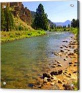 Gallitan River 1 Acrylic Print