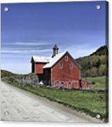 Gallop Road Barn Acrylic Print