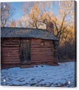 Galloway Homestead Cabin Acrylic Print