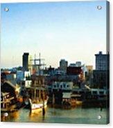 Galveston Bay Sunrise Acrylic Print