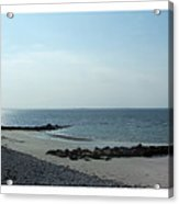 Galway Bay At Salt Hill Park Galway Ireland Acrylic Print