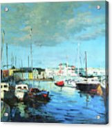 Galway Docks Acrylic Print