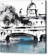 Galway - Monochromatic  Acrylic Print