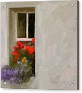 Galway Window Acrylic Print