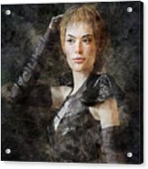 Game Of Thrones. Cersei Lannister. Acrylic Print