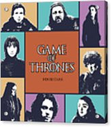 Game Of Thrones. House Stark. Acrylic Print