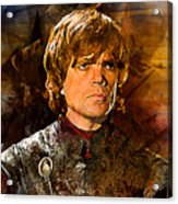Game Of Thrones. Tyrion Lannister. Acrylic Print
