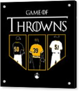 Game Of Throwns Acrylic Print