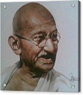 Gandhiji Acrylic Print
