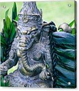 Ganesha Ganesa Ganapati Vinayaka Pillaiyar Hindu Pantheon Acrylic Print