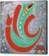 Ganesha Symbolic Acrylic Print