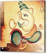 Ganesha's Blessing Acrylic Print