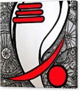 Ganesha_the Elephant God Acrylic Print