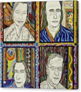 Gang Of Four Acrylic Print