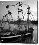 Gang Of Pirates Acrylic Print