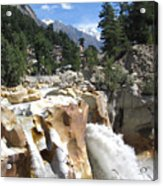 Ganges In Gangotri Close To Its Source Acrylic Print