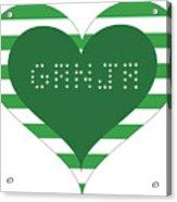Ganja8 Acrylic Print