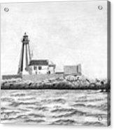 Gannet Rock Lighthouse Acrylic Print