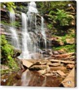 Ganoga Falls Ricketts Glen Acrylic Print