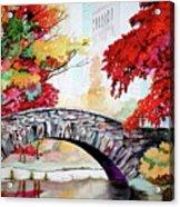 Gapstow Bridge I Acrylic Print