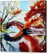 Gapstow Bridge II Acrylic Print