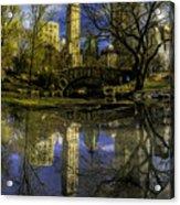 Gapstow Bridge In Central Park Acrylic Print