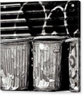 Garbage Acrylic Print
