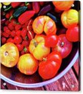Garden Abundance 2 Acrylic Print