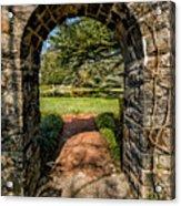 Garden Archway Acrylic Print