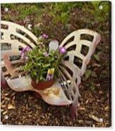 Garden Art Acrylic Print