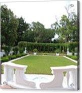 Garden At Crane Cottage Acrylic Print