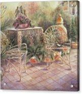 Garden At Linwood  Acrylic Print