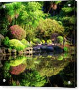 Garden At Shores Acres Acrylic Print