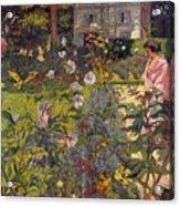 Garden At Vaucresson Acrylic Print