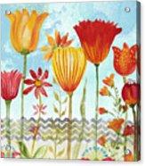 Garden Beauty-jp2960b Acrylic Print