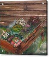 Garden Box Acrylic Print