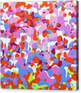 Garden Camo Acrylic Print