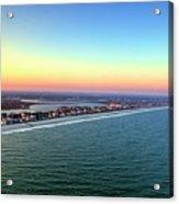 Garden City Ocean Sunset Acrylic Print