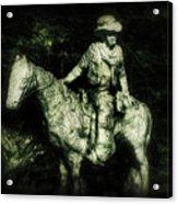 Garden Cowboy Acrylic Print