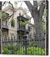 Garden District House Acrylic Print