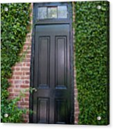 Garden Door Acrylic Print