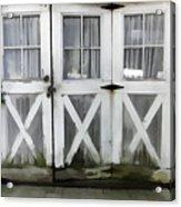 Garden Doors Acrylic Print