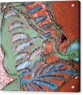 Garden Dream Tile Acrylic Print