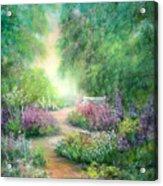 Garden Dreams Acrylic Print