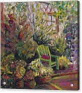 Garden Escape Acrylic Print