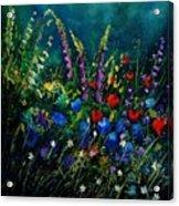 Garden Flowers 56 Acrylic Print
