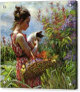 Garden Gatherings Acrylic Print
