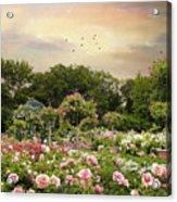 Garden Grace Acrylic Print