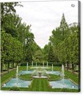 Italian Fountains Of The Garden Acrylic Print