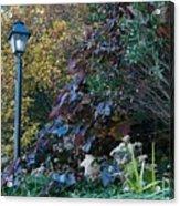 Garden Lamp Post Acrylic Print